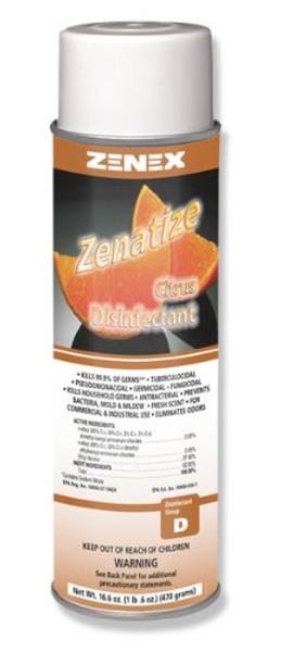 Zenatize Disinfectant Spray Citrus  15 oz  - 12/cs - #Z495565