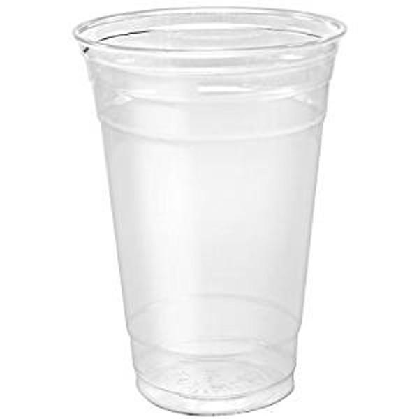Clear 20oz PET Squat Cup - 600/cs - #TP20