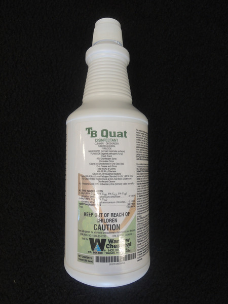 TB Quat Ready To Use Disinfectant - EPA REGISTERED FOR COVID 19 - 12 quarts/case