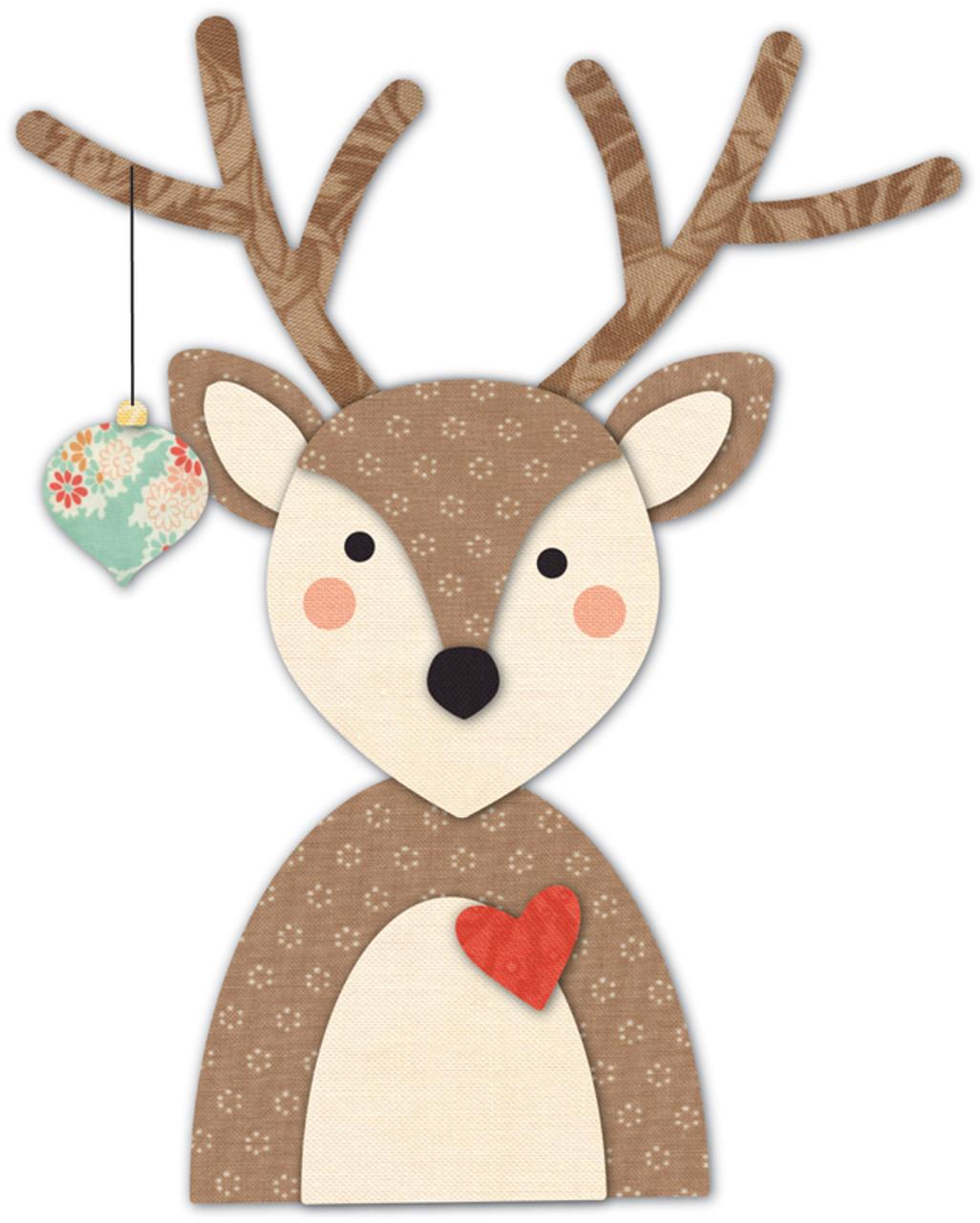 METAL Moule Christmas Deer ELK scrapbooking gaufrage Craft Die Moule BZU