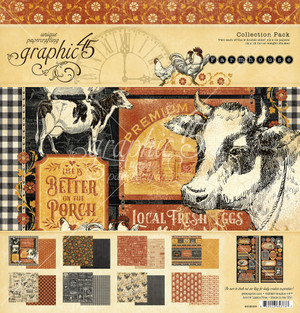 Graphic 45 - Farmhouse - 12 x 12 Collection Pack