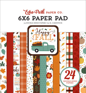 Photoplay Paper PhotoPlay Double-Sided Paper Pad 6X6 24//Pkg-Mad 4 Plaid Fall 8 Designs//3