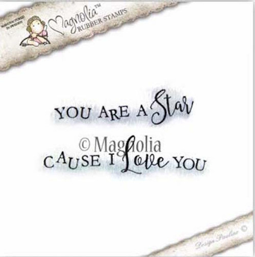 Magnolia Stamps - Lovely Emojis - You Are A Star Text