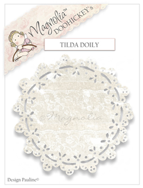 Magnolia Stamps Tilda Doily The Rubber Buggy