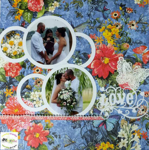 Wedding Page with Graphic 45 Flutter