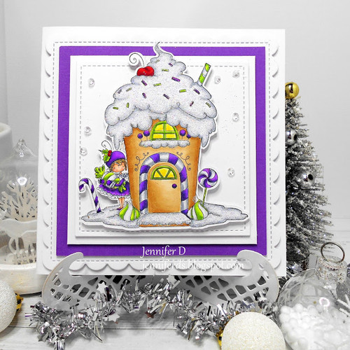 Stamping Bella Teeny Tiny Townie Gingerbread House