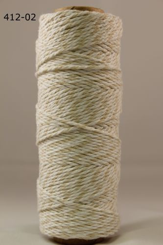 bakers twine 2 mm champagne the rubber buggy