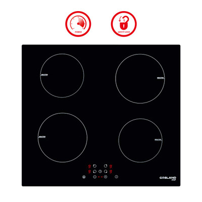 "Gasland Chef IH60BF 24"" Built-in Induction Cooker, Vitro Ceramic Surface Electric Cooktop, 4 Burners"