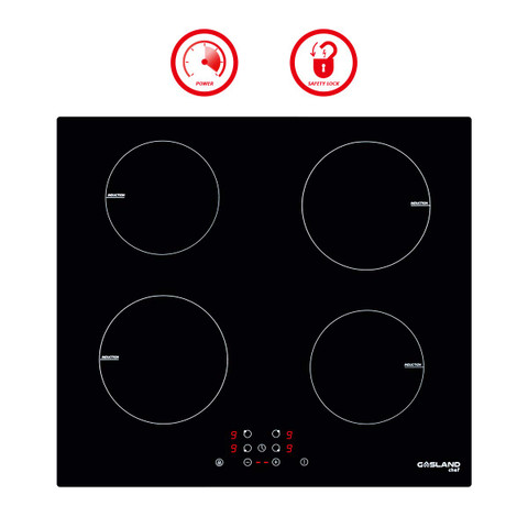 Timer /& Kid Safety Lock 9 Heating Level Sensor Touch Control thermomate 12 Inch Built-in Radiant Electric Stove Top 240V Ceramic Electric Stove with 2 Burners Electric Cooktop