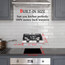 Gasland Chef GH30BF 12'' Built-in Gas Stove Top, Black Tempered Glass LPG Natural Gas Cooktop, 2 Sealed Burners, ETL
