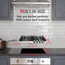 Gasland Chef GH60BF 24'' Built-in Gas Stove Top, Black Tempered Glass LPG Natural Gas Cooktop, 4 Sealed Burners, ETL