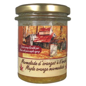 Maple Oranges Marmalade