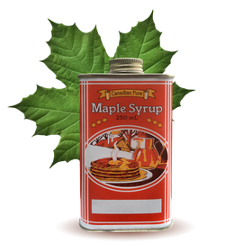 Maple Metal Tin, 250ml (8oz)