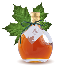 100% pure Maple Syrup Basque Bottle 8.45oz 250ml