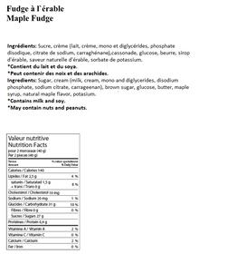 Maple Fudge (60g)