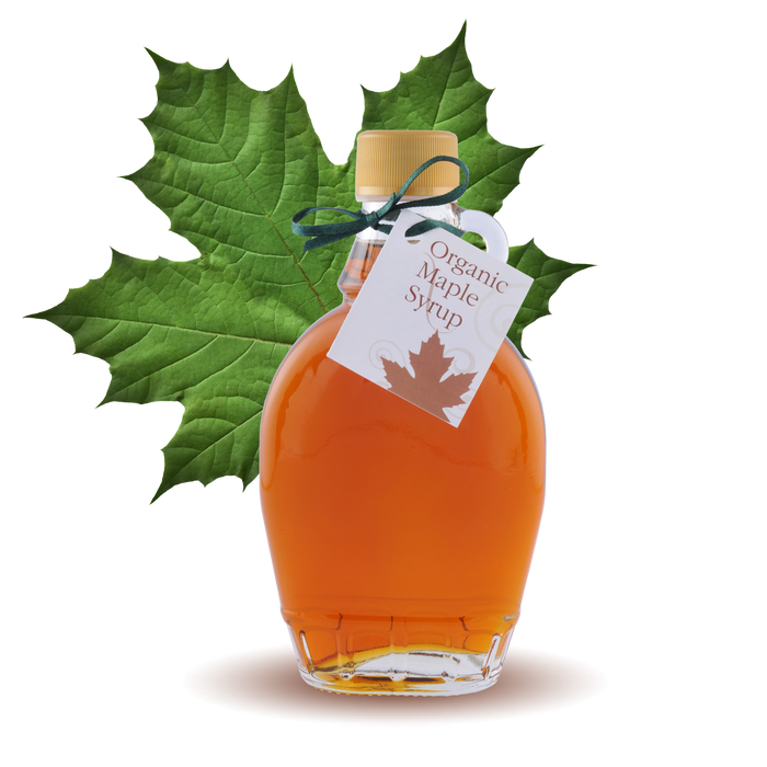 100% pure Organic Maple Syrup Classic Bottle 8.45oz 250ml