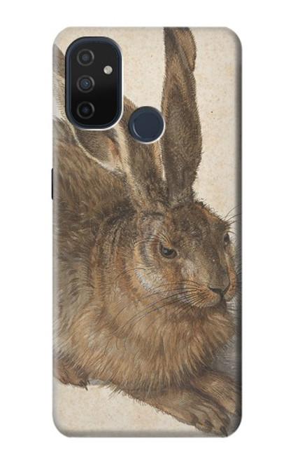 W3781 Albrecht Durer Young Hare Hülle Schutzhülle Taschen und Leder Flip für OnePlus Nord N100