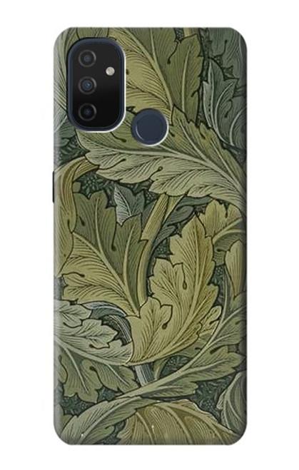 W3790 William Morris Acanthus Leaves Hülle Schutzhülle Taschen und Leder Flip für OnePlus Nord N100