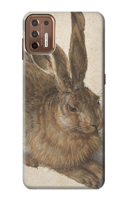 W3781 Albrecht Durer Young Hare Hülle Schutzhülle Taschen und Leder Flip für Motorola Moto G9 Plus