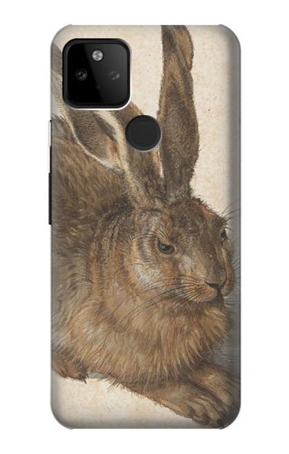 W3781 Albrecht Durer Young Hare Hülle Schutzhülle Taschen und Leder Flip für Google Pixel 5A 5G