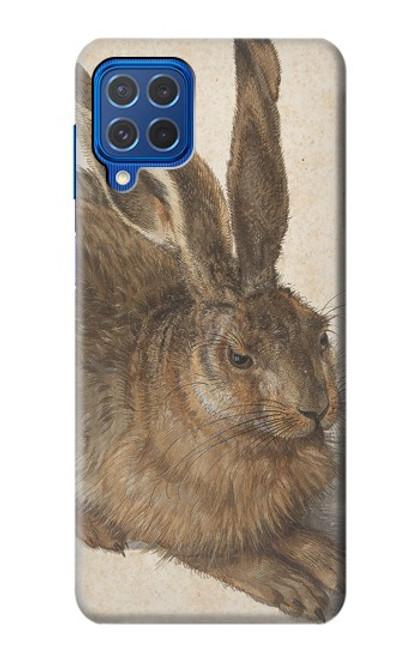 W3781 Albrecht Durer Young Hare Hülle Schutzhülle Taschen und Leder Flip für Samsung Galaxy M62