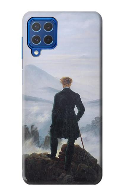 W3789 Wanderer above the Sea of Fog Hülle Schutzhülle Taschen und Leder Flip für Samsung Galaxy M62