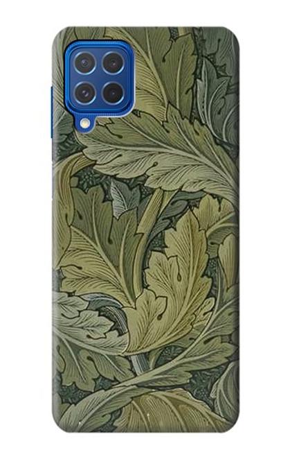 W3790 William Morris Acanthus Leaves Hülle Schutzhülle Taschen und Leder Flip für Samsung Galaxy M62