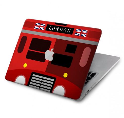W2058 England British Double Decker Bus Hülle Schutzhülle Taschen für MacBook Air 13″ - A1369, A1466