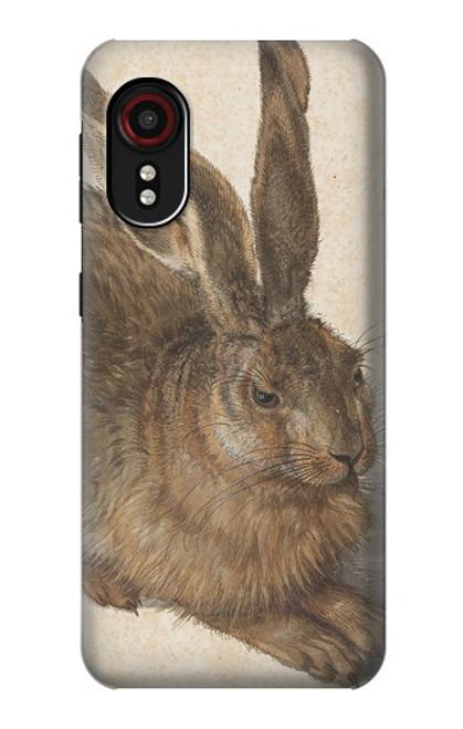 W3781 Albrecht Durer Young Hare Hülle Schutzhülle Taschen und Leder Flip für Samsung Galaxy Xcover 5