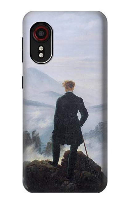 W3789 Wanderer above the Sea of Fog Hülle Schutzhülle Taschen und Leder Flip für Samsung Galaxy Xcover 5