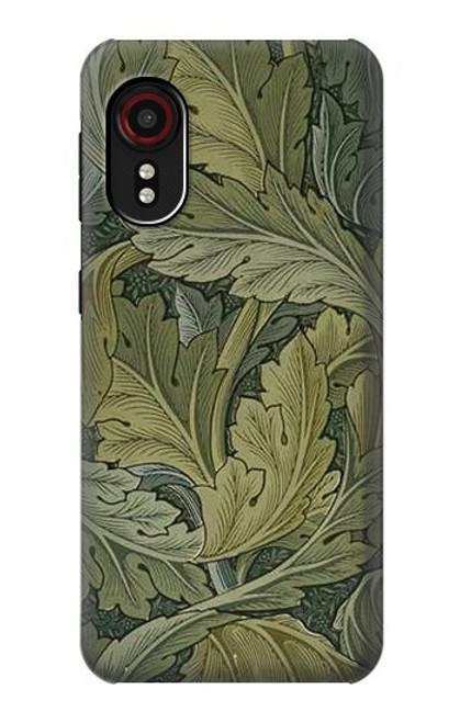 W3790 William Morris Acanthus Leaves Hülle Schutzhülle Taschen und Leder Flip für Samsung Galaxy Xcover 5