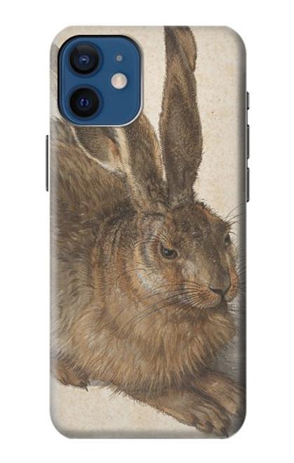 W3781 Albrecht Durer Young Hare Hülle Schutzhülle Taschen und Leder Flip für iPhone 12 mini