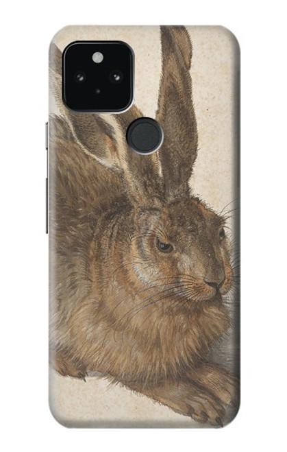 W3781 Albrecht Durer Young Hare Hülle Schutzhülle Taschen und Leder Flip für Google Pixel 5