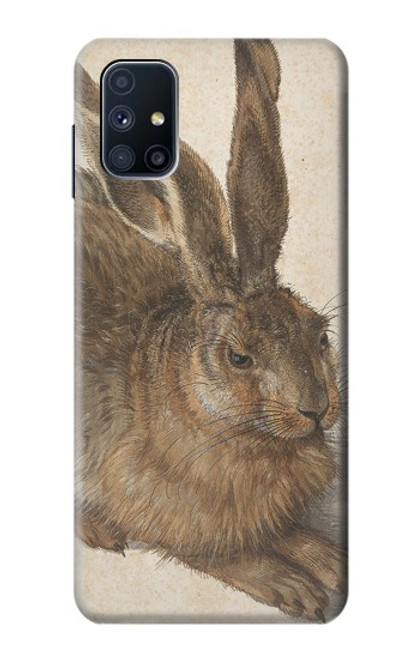 W3781 Albrecht Durer Young Hare Hülle Schutzhülle Taschen und Leder Flip für Samsung Galaxy M51
