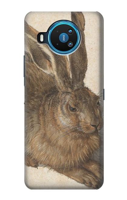 W3781 Albrecht Durer Young Hare Hülle Schutzhülle Taschen und Leder Flip für Nokia 8.3 5G