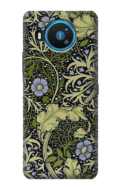 W3792 William Morris Hülle Schutzhülle Taschen und Leder Flip für Nokia 8.3 5G