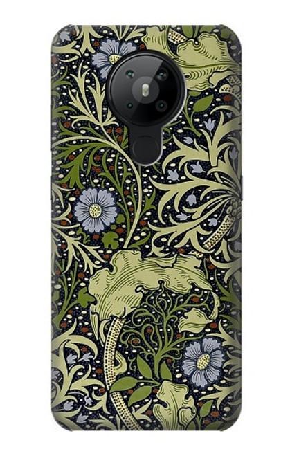 W3792 William Morris Hülle Schutzhülle Taschen und Leder Flip für Nokia 5.3