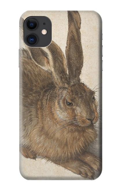 W3781 Albrecht Durer Young Hare Hülle Schutzhülle Taschen und Leder Flip für iPhone 11