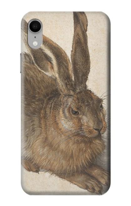 W3781 Albrecht Durer Young Hare Hülle Schutzhülle Taschen und Leder Flip für iPhone XR