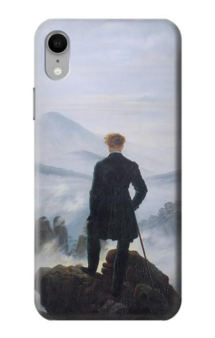 W3789 Wanderer above the Sea of Fog Hülle Schutzhülle Taschen und Leder Flip für iPhone XR