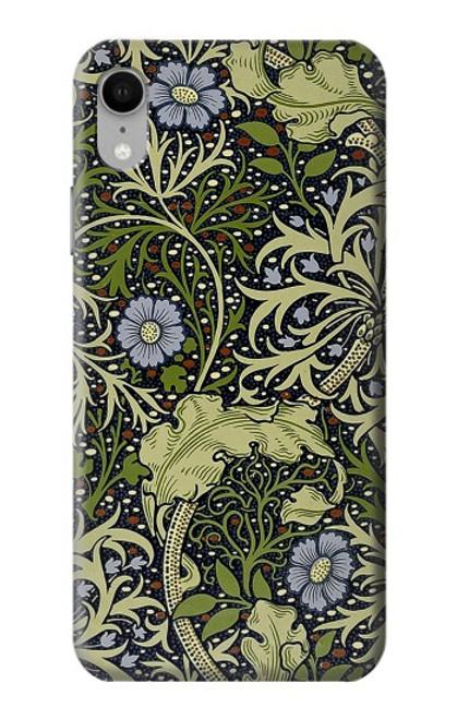 W3792 William Morris Hülle Schutzhülle Taschen und Leder Flip für iPhone XR