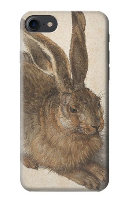 W3781 Albrecht Durer Young Hare Hülle Schutzhülle Taschen und Leder Flip für iPhone 7, iPhone 8, iPhone SE (2020)