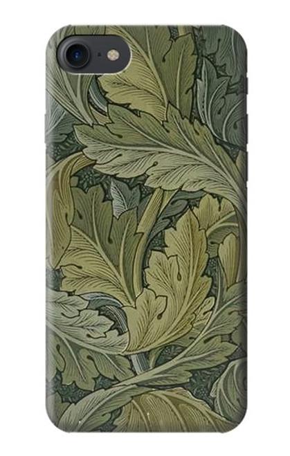 W3790 William Morris Acanthus Leaves Hülle Schutzhülle Taschen und Leder Flip für iPhone 7, iPhone 8, iPhone SE (2020)