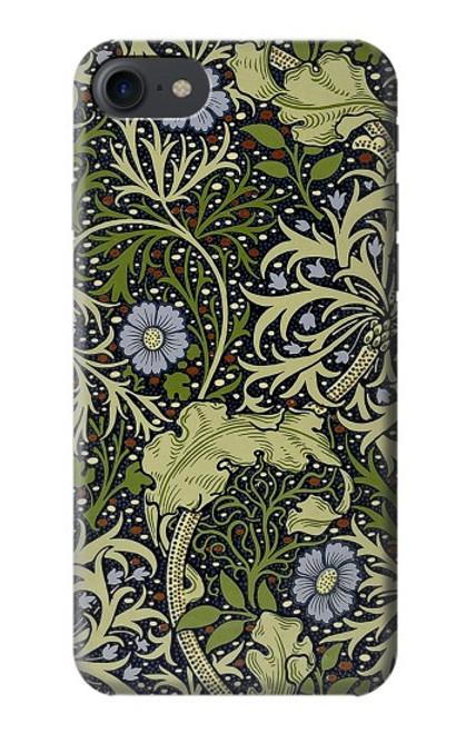 W3792 William Morris Hülle Schutzhülle Taschen und Leder Flip für iPhone 7, iPhone 8, iPhone SE (2020)