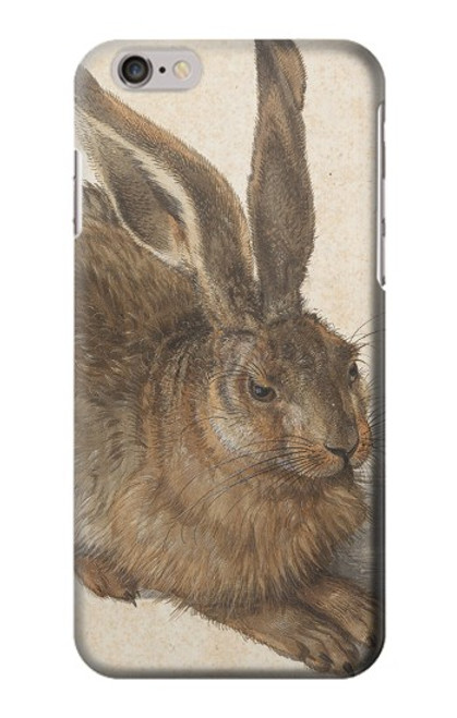W3781 Albrecht Durer Young Hare Hülle Schutzhülle Taschen und Leder Flip für iPhone 6 6S