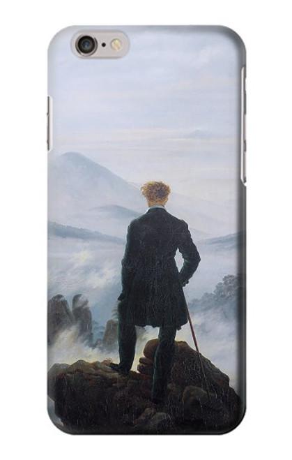 W3789 Wanderer above the Sea of Fog Hülle Schutzhülle Taschen und Leder Flip für iPhone 6 6S