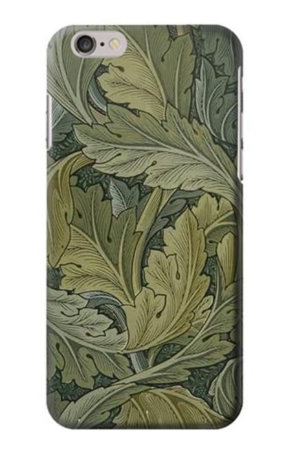 W3790 William Morris Acanthus Leaves Hülle Schutzhülle Taschen und Leder Flip für iPhone 6 6S