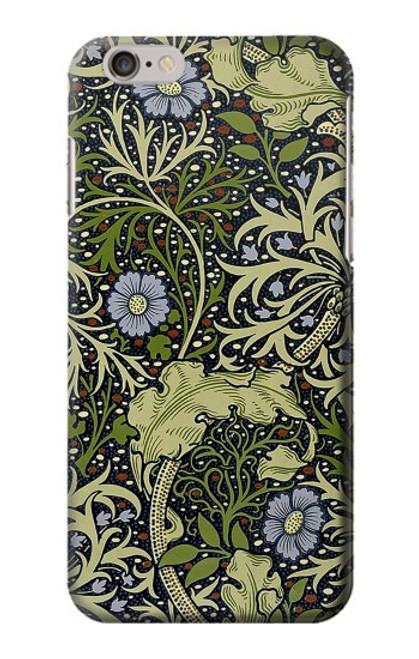 W3792 William Morris Hülle Schutzhülle Taschen und Leder Flip für iPhone 6 6S