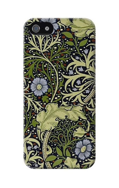 W3792 William Morris Hülle Schutzhülle Taschen und Leder Flip für iPhone 5 5S SE
