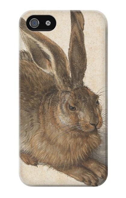 W3781 Albrecht Durer Young Hare Hülle Schutzhülle Taschen und Leder Flip für iPhone 4 4S